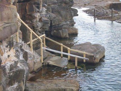 entrance McIver pool