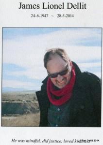 Jim Dellit Funeral booklet p1